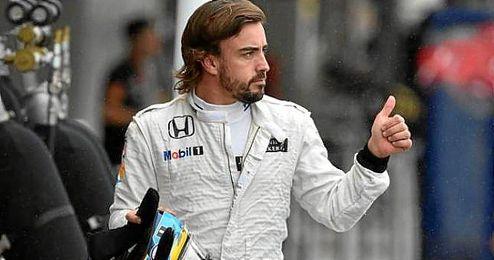 En la imagen, el piloto español Fernando Alonso.
