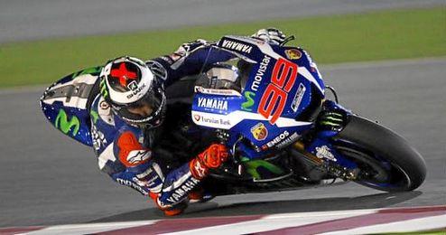 Lorenzo fue de nuevo la major Yamaha.