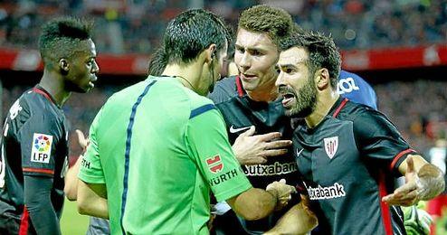 Laporte y Balenziaga no jugarán ante el Betis.