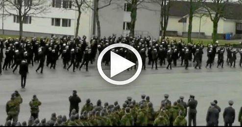 (VIDEO) La marina noruega se apunta a los 'flashmob'