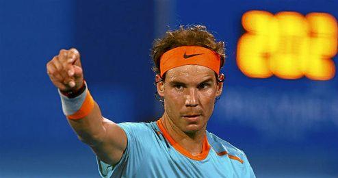 En la imagen, el tenista español Rafael Nadal.