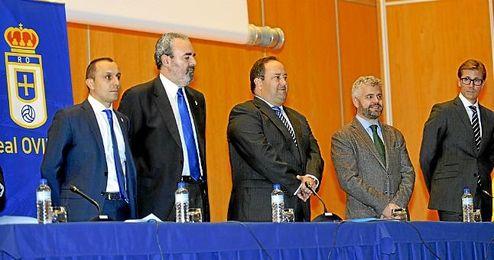 Junta de accionistas del Real Oviedo.