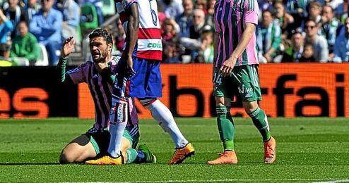 Jorge Molina, en el partido del pasado domingo ante el Granada.