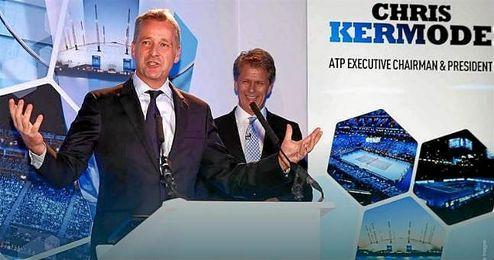 En la imagen, el presidente de la ATP, Chris Kermode.