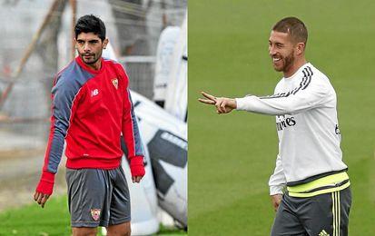 Banega y Ramos no jugarán el Madrid-Sevilla.