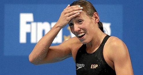 En la imagen, Jessica Vall, medalla de bronce en los 200 braza de los pasados Mundiales de Kazán.