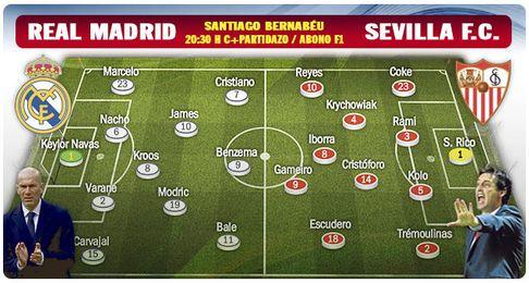 (Previa) Real Madrid-Sevilla FC: Remedio acorde a la magnitud del mal