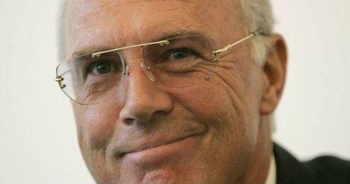 En la imagen, Beckenbauer.