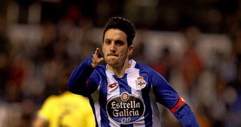 En la imagen, Luis Alberto celebra su gol.
