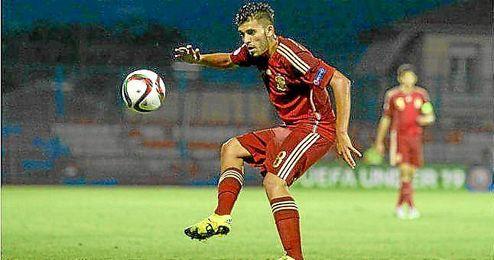 Dani Ceballos no logró destacar con el combinado nacional.