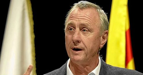 Johan Cruyff, mito del Ajax.