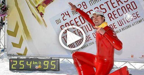 Ivan Origone ha batido la anterior plusmarca, que había logrado minutos antes su hermano Simone.