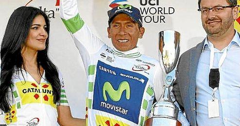 Nairo Quintana ha ganado La Volta a Catalunya.