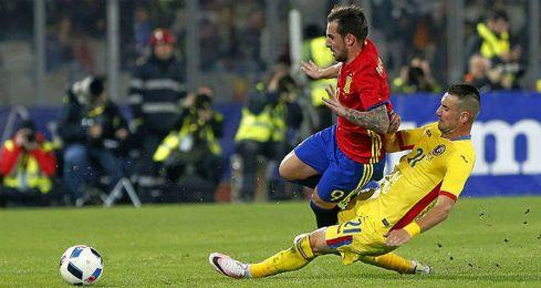 España no pasó del empate en Rumanía.
