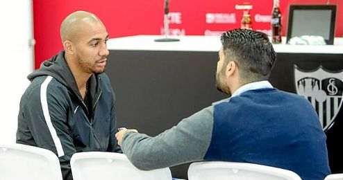 N�Zonzi, durante su entrevista a ESTADIO Deportivo.