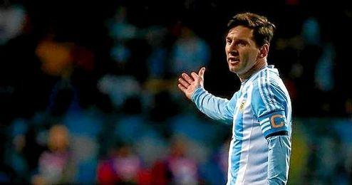 Messi está a un gol de los 500.
