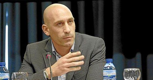 Rubiales, presidente de la AFE