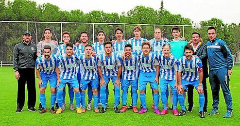 El once del Sevilla Este (D.H.).