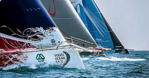 Imagen de una etapa de la Volvo Ocean Race.