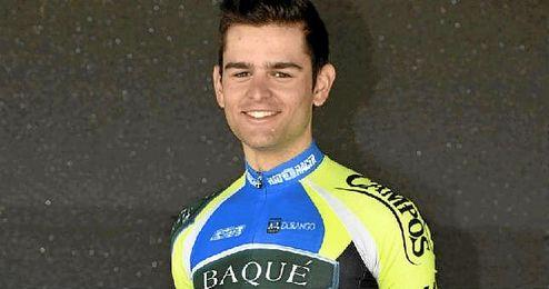 Marcos Gonz�lez, ciclista del equipo Baqu�-Campos.