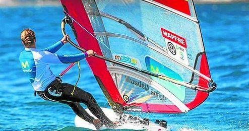 Alabau disputará la medal race desde la segunda plaza.