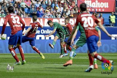 Dani Ceballos, en el choque ante el Atlético.
