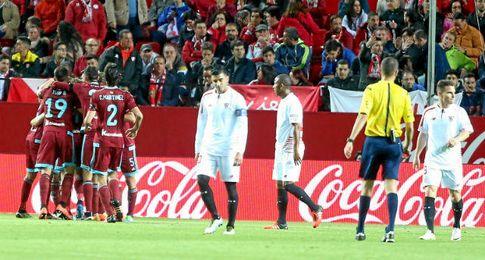 La Real Sociedad se impone por 1-2 en Nervión.