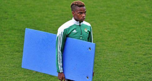 Charly Musonda, en un entrenamiento.