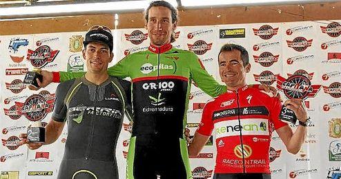 Imagen del podio de la competición.