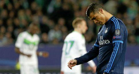 Cristiano Ronaldo refleja la impotencia del Real Madrid.