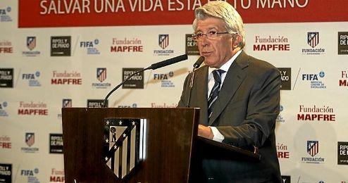 Cerezo, presidente del Atlético de Madrid