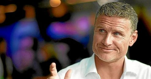 En la imagen, el expiloto David Coulthard