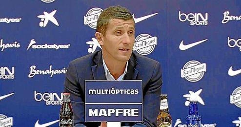 En la imagen, el entrenador del Málaga Javi Gracia.