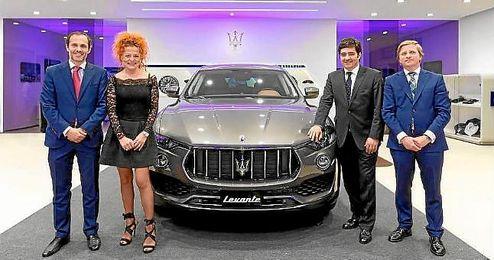 Imagen de la presentación del nuevo Maserati Levante.