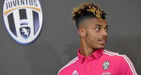 Mario Lemina, mediocentro de la Juventus.