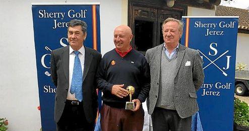 Entrega de premios del torneo disputado en Jerez.