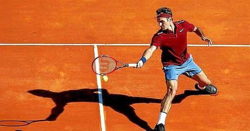 El suizo Roger Federer venció al español Guillermo García López.