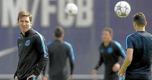 El astro argentino mostró su confianza en las opciones que tiene el equipo de repetir el triplete.