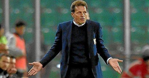 Walter Novellino, �ltimo entrenador del Palermo