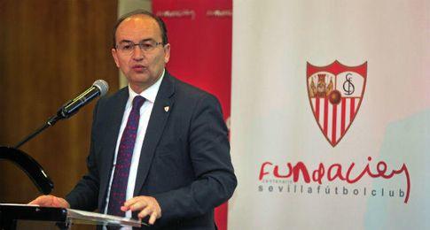 José Castro, presidente del Sevilla Fútbol Club.