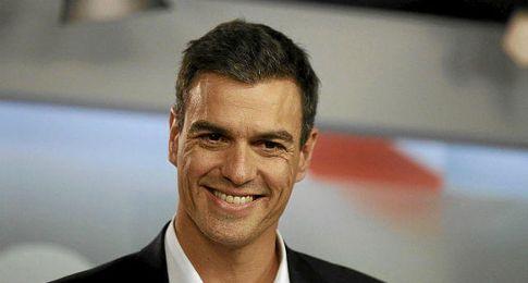 Pedro S�nchez, secretario general del PSOE.