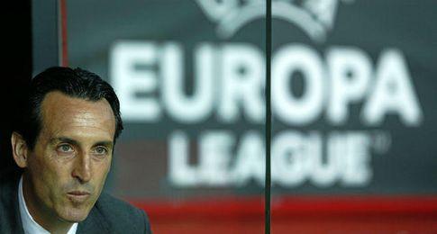 Unai Emery, t�cnico del Sevilla FC.