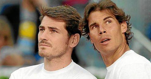 Los españoles elegirían como primera y segunda opción a Nadal y Casillas para irse de cañas.