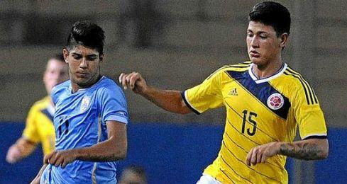 Carrascal brill� con la selecci�n colombiana sub 20.