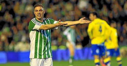 Joaquín, durante el partido ante Las Palmas.