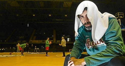 Berni Rodríguez, capitán del Baloncesto Sevilla.