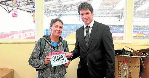 El delegado de Deportes del Ayuntamiento de Sevilla, David Guevara.