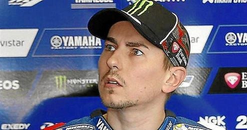 """El piloto de Yamaha afirm� que """"su punto fuerte es el paso por curva en las curvas r�pidas""""."""
