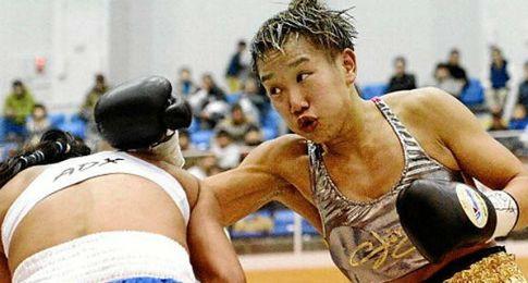 Shindo Go, boxeadora transexual que luchar� con hombres.