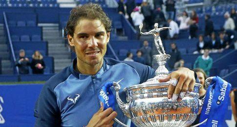 Nadal, campe�n del Barcelona Open Banc Sabadell-Trofeo Conde de God�.